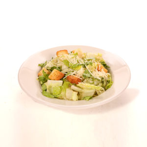 Romaine lettuce, croutons, shredded parmesan cheese. Served with Pita Bread and Dressing on the Side